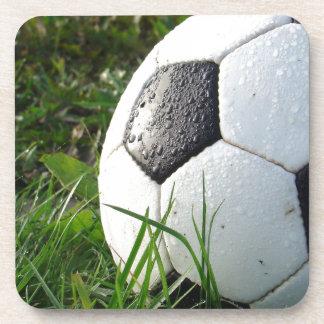 De Bal van de Voet van Soccer~ op gebied Onderzetter