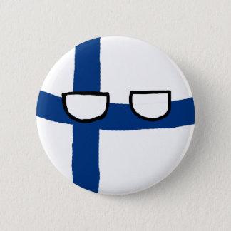De Bal van Finland Ronde Button 5,7 Cm