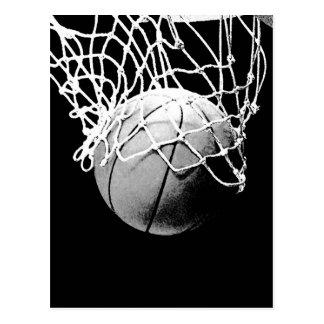 De Bal van het basketbal Briefkaart