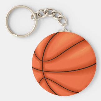De bal van het basketbal sleutelhanger