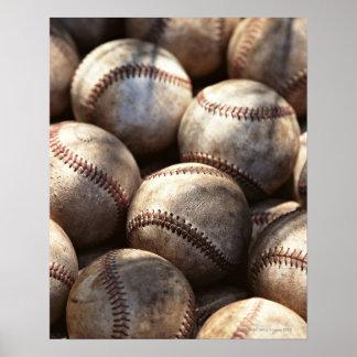 De Bal van het honkbal Poster