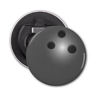 De Bal van het kegelen Button Flesopener