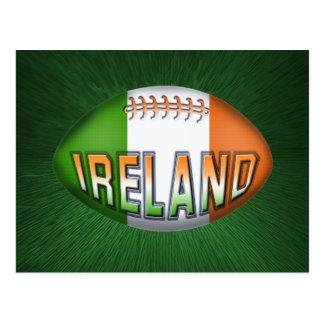 De Bal van het Rugby van Ierland Briefkaart