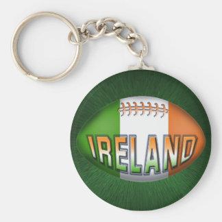 De Bal van het Rugby van Ierland Sleutelhanger