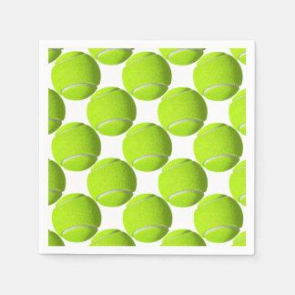 De Bal van het tennis Papieren Servet