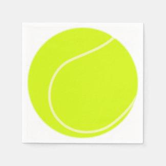 De Bal van het tennis Wegwerp Servetten