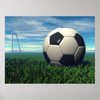 De Bal van het voetbal (football) Poster