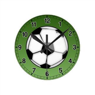 De Bal van het voetbal Ronde Klok Medium