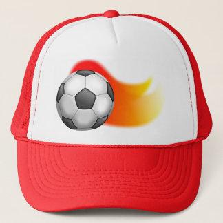 De Bal van het voetbal Trucker Pet