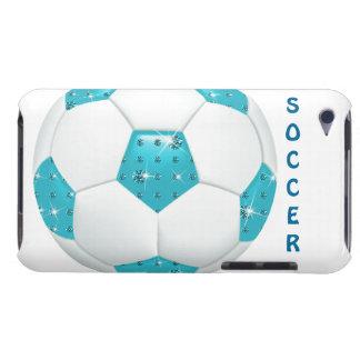 De Bal van het Voetbal van Aqua van de iPod Touch Hoesje