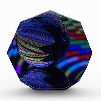 De bal wijst op 3 acryl prijs