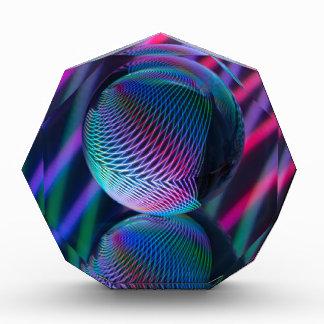 De bal wijst op 4 acryl prijs