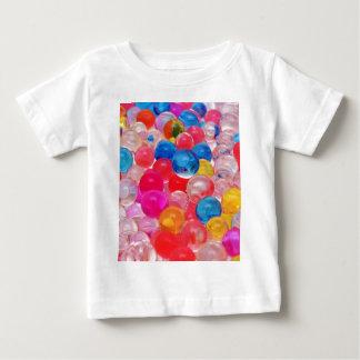 de ballen van de textuurgelei baby t shirts