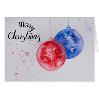De Ballen van Kerstmis Briefkaarten 0