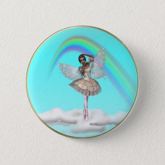 De Ballerina Faery van KRW Ronde Button 5,7 Cm