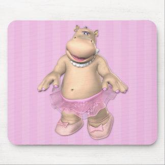 De Ballerina Mousepad van Hippo Muismatten