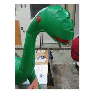 De Ballon van de dinosaurus Wens Kaarten