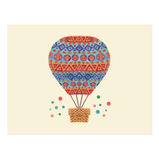 De Ballon van de hete Lucht Briefkaart