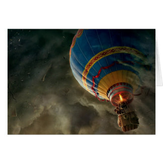 De Ballon van de hete Lucht in de Kaart van de