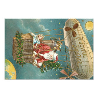 De Ballon van de Kerstboom van de Giften van de Fotografische Afdruk