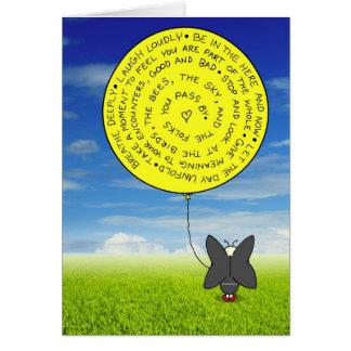 De ballon van Snootch Kaart