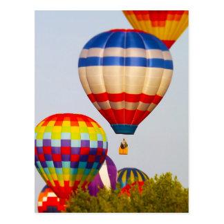 De Ballons van de hete Lucht, Ballon Fest, Olathe, Briefkaart