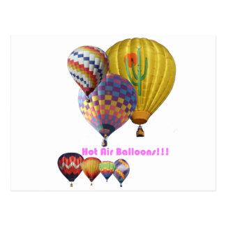De Ballons van de hete Lucht!!! Collage Briefkaart