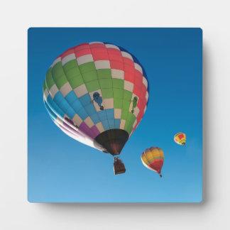 De Ballons van de hete Lucht Fotoplaat