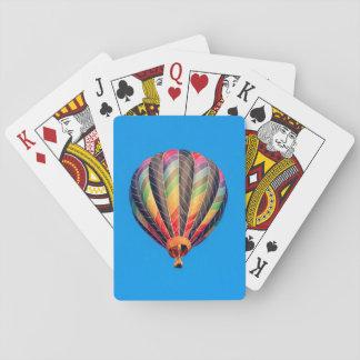 De Ballons van de hete Lucht Pokerkaarten