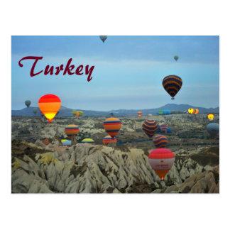 De Ballons van de lucht van het Briefkaart van