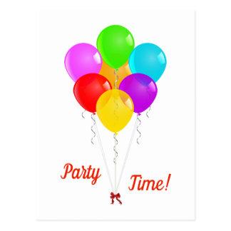 De Ballons van de partij Briefkaart