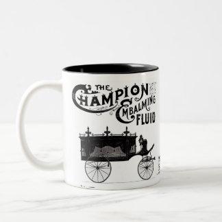 De balsemende Vloeibare Mok van de Koffie