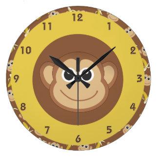 De Bananen van de aap Ronde Klok Large