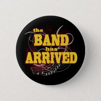 De band is Rood aangekomen Ronde Button 5,7 Cm