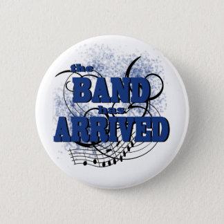 De band kwam Blauw aan Ronde Button 5,7 Cm