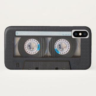De Band van de cassette iPhone X Hoesje
