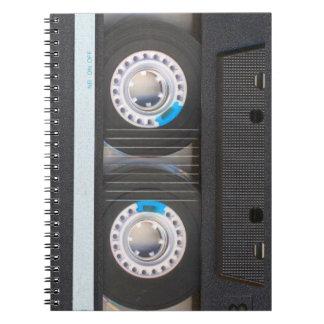 De Band van de cassette Notitieboek