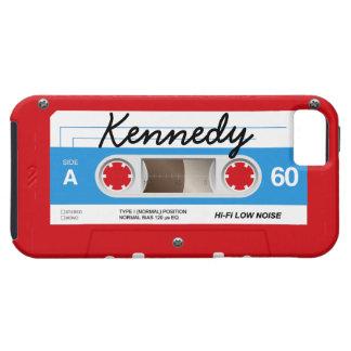 De Band van de cassette Tough iPhone 5 Hoesje