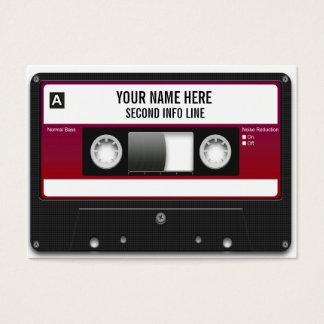 De Band van de Cassette van DJ Mixtape Visitekaartjes