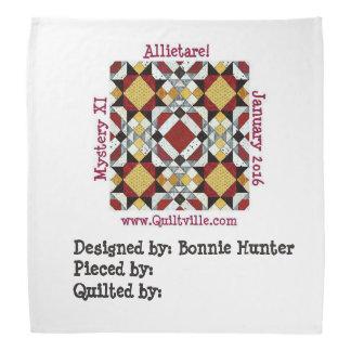 De Bandana van de Polyester van Allietare