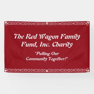 De Banner van de Gebeurtenis van de liefdadigheid