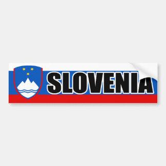 De Banner van de Vlag van Slovenië Bumpersticker
