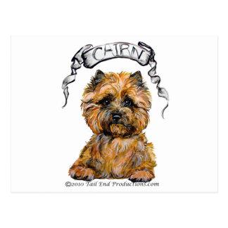 De Banner van Terrier van de steenhoop Briefkaart