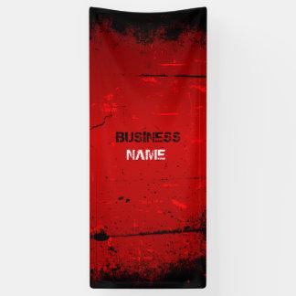 De bannerontwerp van Grunge