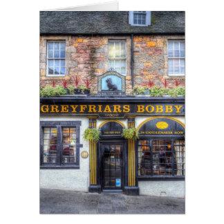 De Bar Edinburgh van Bobby van Greyfriars Briefkaarten 0