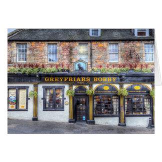 De Bar Edinburgh van Bobby van Greyfriars Kaart