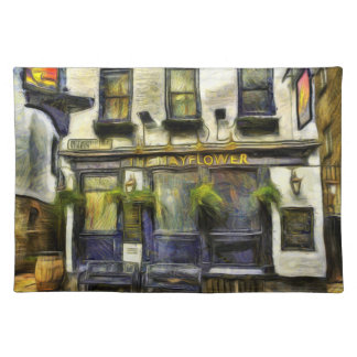 De Bar Londen Van Gogh van Mayflower Placemat