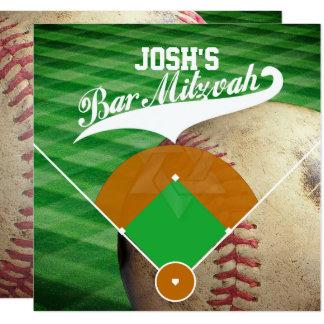 De Bar mitswa van de Diamant van het Honkbal van Kaart