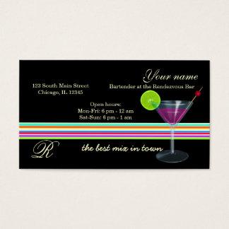 De Bar van de barman/van de Eigenaar Visitekaartjes