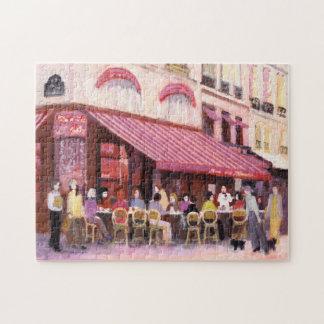De Bar van de Koffie van Parijs Puzzels